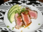 Seared Tuna with Spicy Soy Glaze