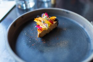 first course - sea urchin pie
